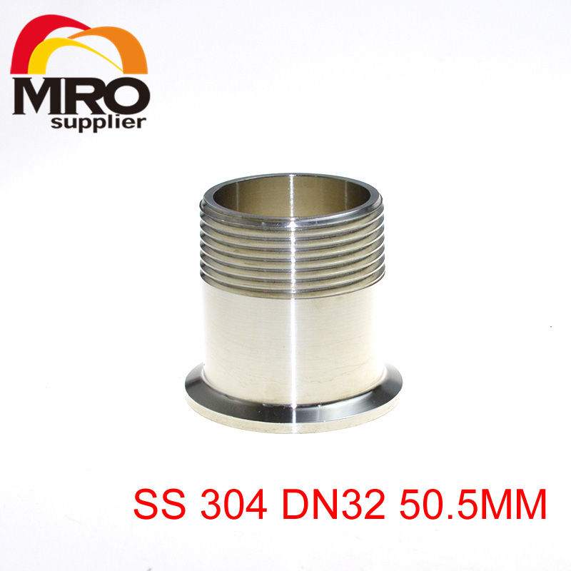 1-1/4 DN32 Sanitary Male Threaded Ferrule Pipe Fitting Tri Clamp Type Stainless Steel SS304 SS004<br><br>Aliexpress