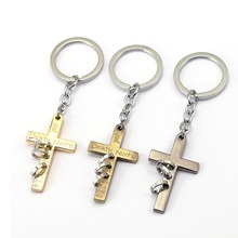 10pcs/lot wholesale Death Note Keychain Car Phone Bag Charm Key Chain Cross Key Ring Holder Chaveiro Pendant Jewelry Souvenir