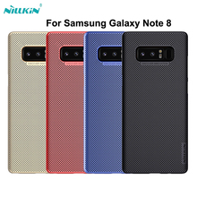 For Samsung Galaxy Note 8 Case Air Net Case Nillkin Heat Dissipation Shield Hard Plastic Matte Surface Cover Coque Fundas(China)