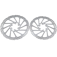 2Pcs Bike Cycling Clean Sweep MTB Disc Bicycle Brake Rotors 160mm G3 Bicycle Disc Brake Pulling Disc Brakes BHU2