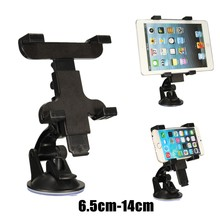6.5-14cm Adjustable Car Windshield Suction Mount Tablet PAD Phone Holder Stand Cradle Universal For iPhone For iPad For Samsung(China)