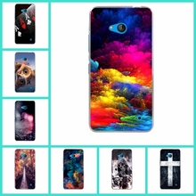 Skid Clear Pattern Soft TPU Skin Case For Microsoft Nokia Lumia 640 N640 Phone Cases Back Protect Phone Bags Cover Silicone Gel