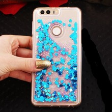 For Huawei P10 Lite, P10 , P10 Plus Dynamic Liquid Glitter Sand Quicksand Star Crystal Clear case cover Huawei P10 Plus