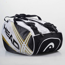 100% Genuine Head Original Brand Raquete De Tenis Backup New Back Pack Tennis Bag 6 Pieces Of Equipment(China)