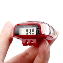 Mini LCD Pedometer Walking Run Step Calorie Distance Calculation Counter Digital Counter Running Jogging Walking Step