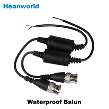 UTP,cctv waterproof BNC video Balun cctv camera 600M Transceivers CCTV spare parts video balum for camera