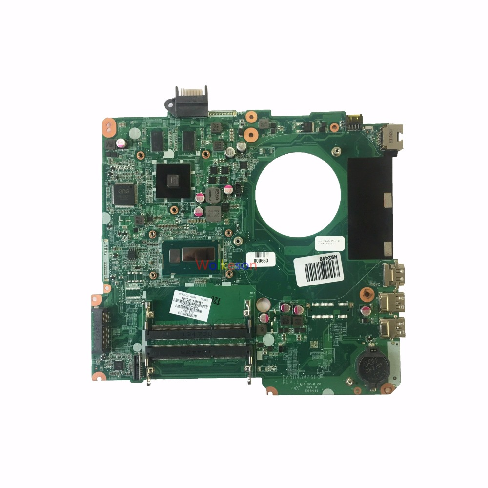 SHELI FOR HP Pavilion 15-N Laptop Motherboard W/ I5-4200U CPU 737669-501 DA0U83MB6E0 HD8670M 1GB GPU DDR3 Test Oke