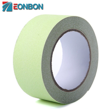 Free Shipping 50mmx3m Green Luminous Safety Walking Anti Skid Tape Glow In The Dark Non Slip Grip Tape