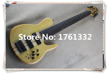 2016 hot sale +factory custom Fodera  7 strings electric bass guitar with birdseye maple can be customized as your request