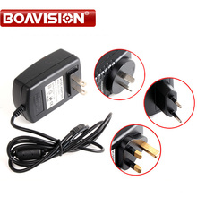 Qualified AC 110-240V To DC 12V 2A CCTV Power Supply Adapter,EU/US/UK/AU Plug ABS Plastic(China)