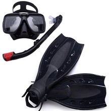 scuba diving equipment ,dive mask and snorkel flipper kit, mask snorkeling,fins underwater swimming kits