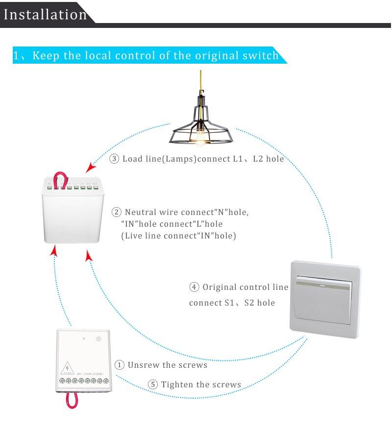 In Stock Xiaomi Mijia Aqara Eigenstone Two-way control module Wireless Relay Controller 2 channels Work For Mijia Home Kit (1)