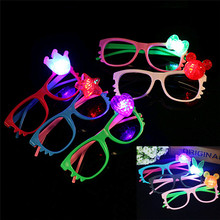 Night Party Fancy Novely Shine Beach Sunglasses Holiday Party Favors Gifts Random Color Hot Sale New Funny Glasses Gift