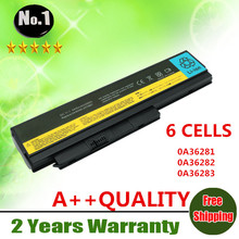 Wholesale New 6cells laptop battery  FOR ThinkPad X220 X220I X220S Series 0A36281 42T4861 42T4862 0A36282 0A36283  free shipping