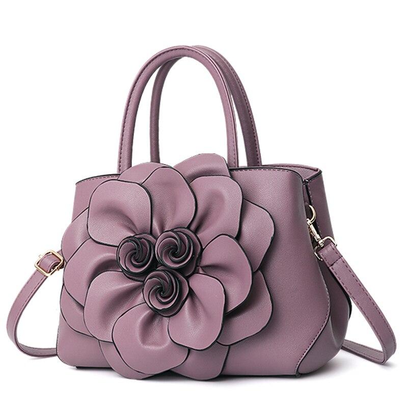 Nevenka Handbag Women Floral Handbags Small Shoulder Bags Leather Crossbody Bag for Women Handbags Purses and Handbags 201812