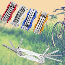 6 in 1 Bicycle Tools Sets Mountain Bike Cycling Multi Repair Tool Kit Socket Head Wrench MTB Bike Screwdriver Tool Color Random(China)
