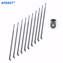 Aperit 10pcs 9dBi 2.4GHz 5GHz Dual Band WiFi RP-SMA Antennas for Linksys Routers E2100L
