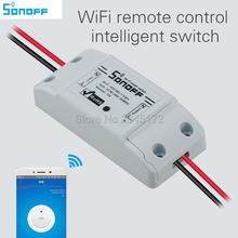 Sonoff Wifi Switch Universal Smart Home Automation Module Timer Diy Wireless Switch Remote Controller Via IOS Android 10A/2200W