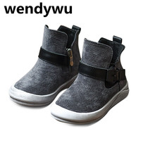 2017 autumn brand high top sneakers for children genuine leather shoes boys casual sneakers baby girls sport sneakers