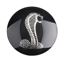 4pcs/lot 56mm 3D Super Cool Snake Reflective Car Tyre Steering Wheel Center Hub Cap Emblem Badge Sports Sticker Car-Styling(China)