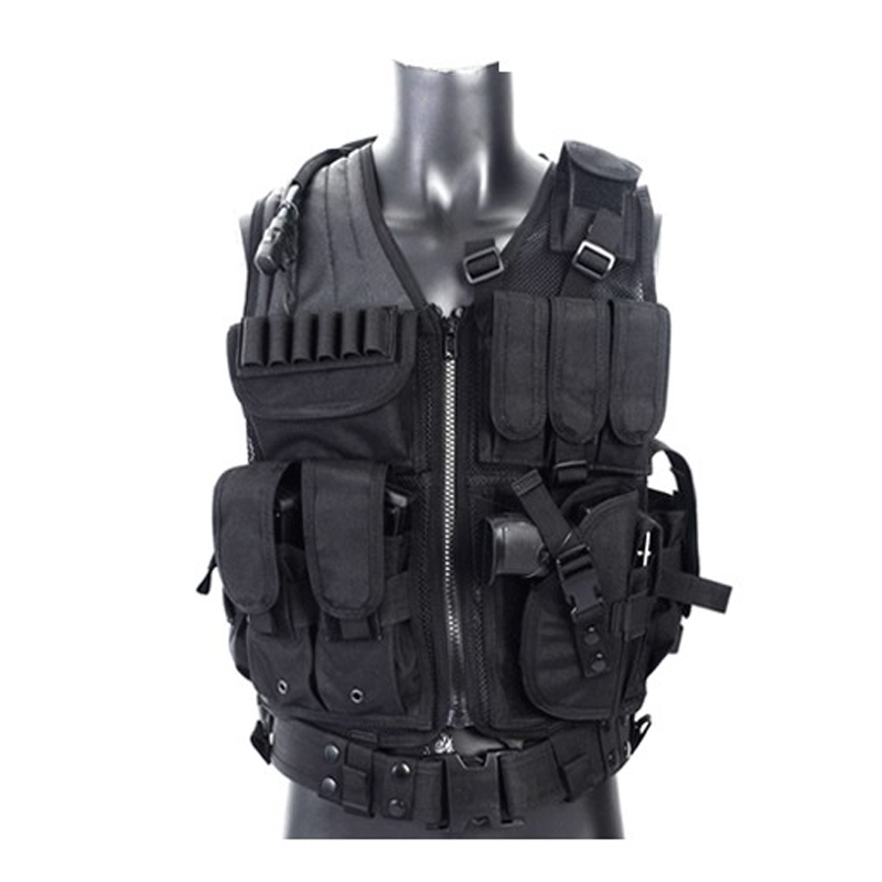 SWAT Airsoft Tactical Hunting Combat Vest  Outdoor Camouflage Military Body Armor Sports Wear Hunting Vest Army Combat Vest<br>