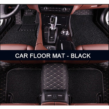 Custom fit car floor mats for Land Rover Discovery 3/4 freelander 2 Sport Range Sport Evoque 3D car styling carpet liner