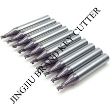 2.5mm End milling cutter in carbide for Wenxing vertical key cutting machine(10pcs/lot) by China Post