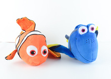 Free Shipping 20set/lot  Finding Nemo plush toys, Nemo and Dory fish Stuffed Animal Soft Plush Toy for baby gift 40pcs