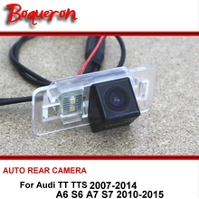 For Audi TT TTS 07-14 A6 S6 A7 S7 10-15 Rear view Camera Back up Reverse Camera Car Parking Camera For SONY CCD Night Vision(China)