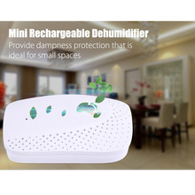 Mini Portable Dehumidifier Wireless Electric Air Dryer Machine Water Moisture Absorb deshumidificador for Home Wardrobe Bookcase(China)