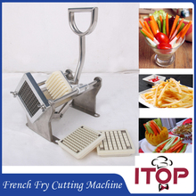 French Fry Cutting Machine Chips Potato Cutter Stainless Steel Vegetable Apple +3 Blades Fast Delivery(China)