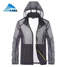 Hot Sale Spring Summer Sun Protection Anti-uv Casaco Outdoor Sport Manteau Homme Hiking Climbing Skin Jacket Men Fishing Coat