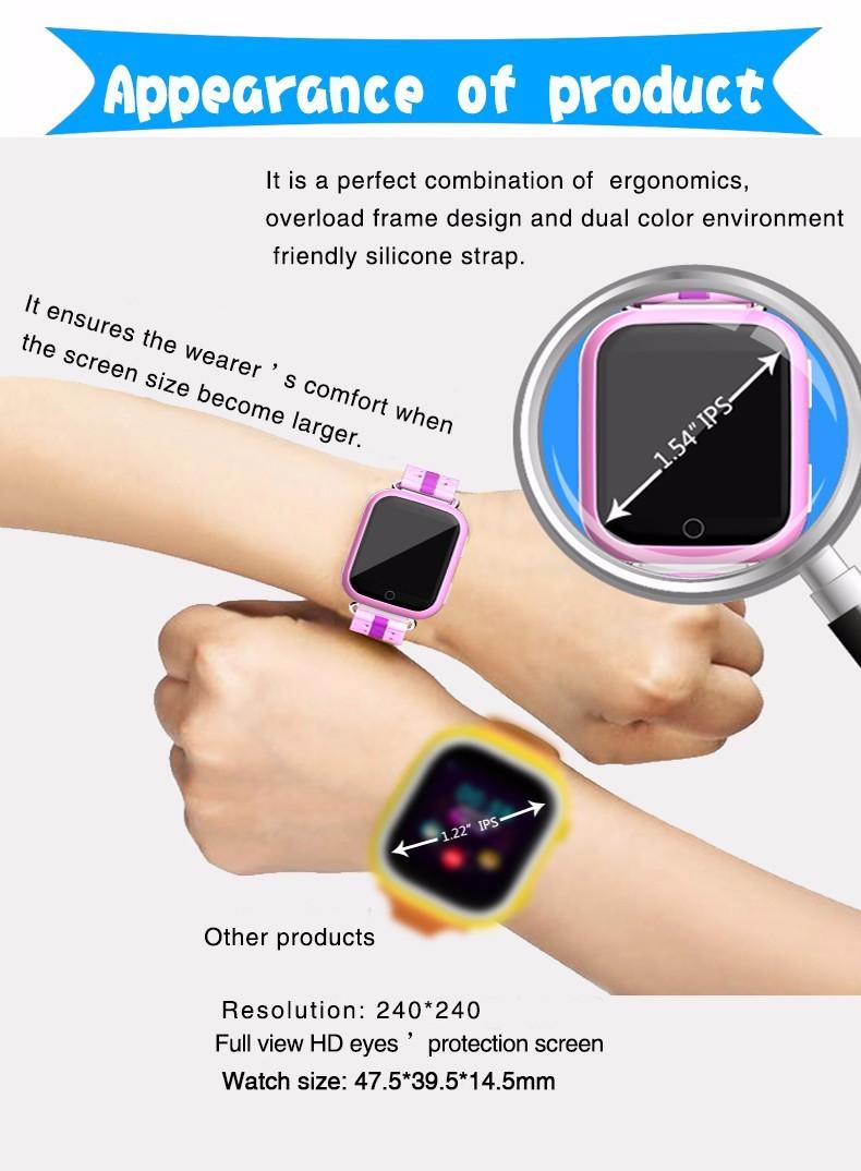 smart baby watch smartwatch smartwach Q100 (6)