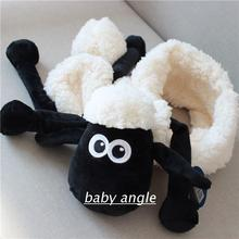 Foreign trade winter soft warm lamb scarf  NICI sheep plush toys for Birthday Christmas Present Lovers Gifts 1pcs