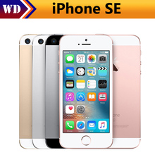 Hot Sale Original Unlocked Apple iPhone SE Cell Phones LTE 4.0' 2GB RAM 16/64GB ROM Chipset A9 Dual-core Fingerprint 12MP WIFI