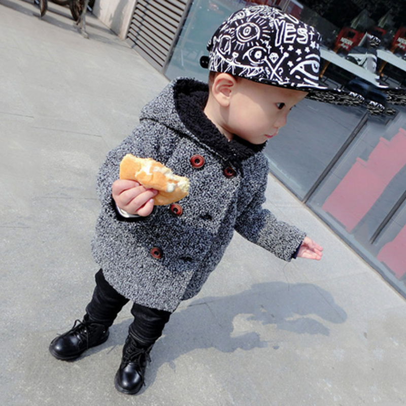 Kids Korean Boy Down Mouth Pattern Parkas Hooded Coat 2017 Winter New Fashion and Cute Coat Jacket for Baby Boys Hot SaleОдежда и ак�е��уары<br><br><br>Aliexpress