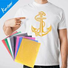 Kenteer Good Quality Heat Transfer Vinyl Glitter For Clothing 21*29cm/Sheet