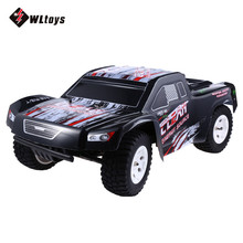 WLtoys RC Cars 2.4GHz 1:10 50KM/H High Speed Electric RTR RC Cross Country Racing Car Vehicle Toy Gifts for Friends Family