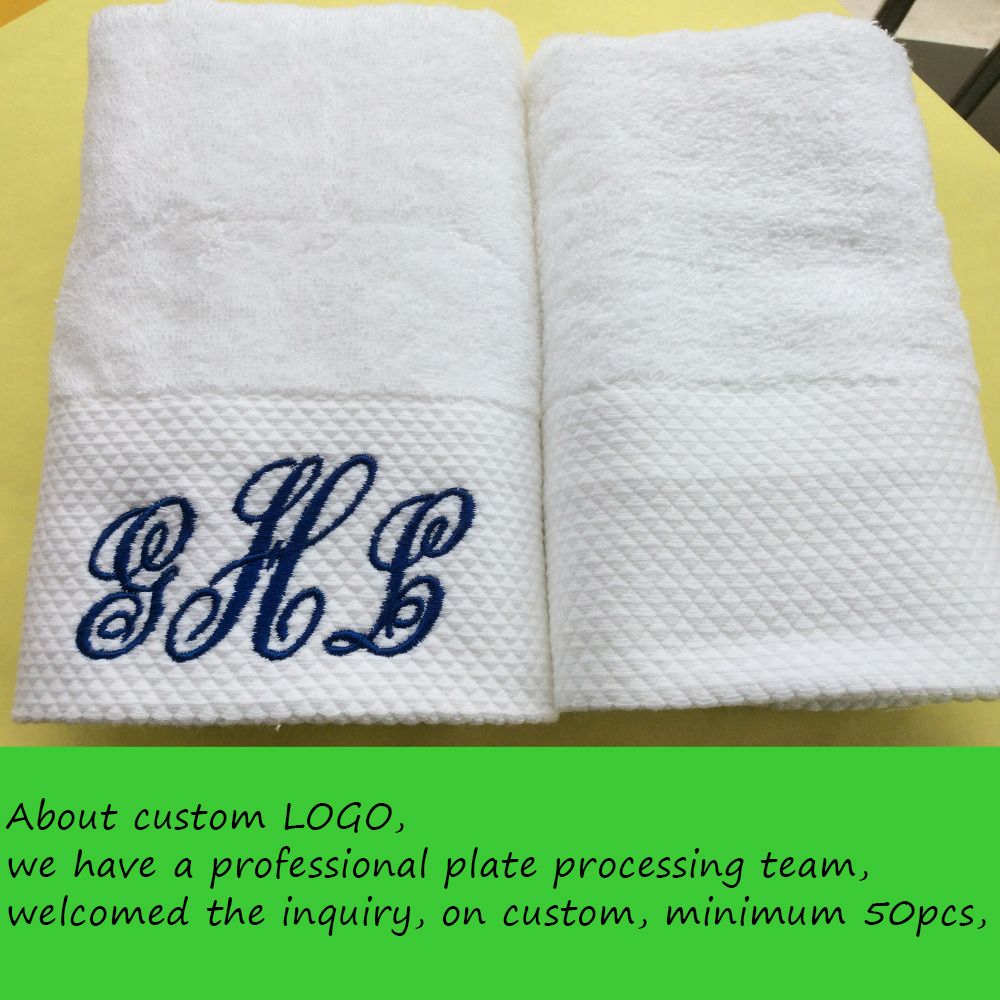 FACE TOWEL 3 Piece LUXURY 100/% COTTON EMBROIDERED BATH TOWEL  HAND TOWEL