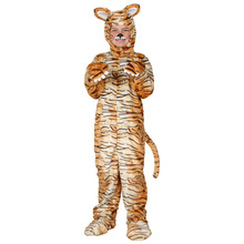 Child Tiger Costume Leopar Winter Halloween Cosplay Costumes  Winter Warm Outfit Dress Up Animal Clothes Cartoon Costume