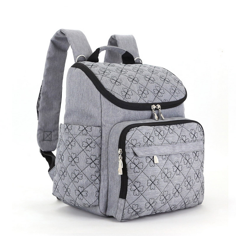Diaper Bag Fashion Mummy Maternity Nappy Bag Brand Baby Travel Backpack Diaper Organizer Nursing Bag For Baby Stroller Wetbag (14)