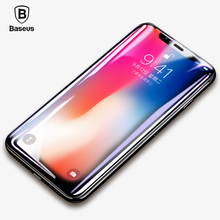 Buy Baseus Screen Protector iPhone X Tempered Glass 0.2mm Ultra Thin Protective Glass iPhone X Glass Film Front Film for $5.59 in AliExpress store