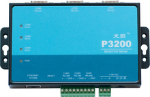3 way 232/485 serial port server, 485 Bus & power isolation, serial port to Ethernet, Modbus(China)