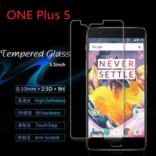 OnePlus5 0.3mm Premium Tempered Glass Screen Protector Film Clear Glass case For OnePlus 5 Five 1+5 One Plus 5 Protective Film