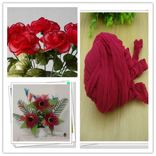 Free shipping 47 colors mix shipping or only one color ship mesh flowers,nylon stocking material/ronde flower for DIY flower(China)