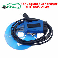 Best Quality JLR SDD V145 Cable For Jaguar / Land Rover JLR Diagnostic Tool Support CAN BUS ISO Multi-languages Free Shipping(China)