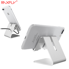 RAXFLY Aluminum Mobile Phone Stand Holder for iPhone 7 6 Plus 5 5S SE Phone Holder for Samsung S7 S6 Edge Stand Stents Holder
