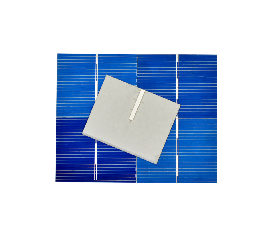 Aoshike 100pcs 0.5V 0.2W 0.4A 39*31.2mm Polycrystalline Silicon Solar Panel DIY Charger Battery Solar Cell 8