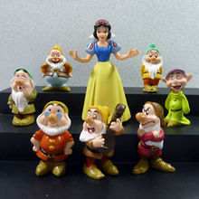 Snow White and the Seven Dwarfs Classic Toy Figure Collection 8Pcs set(China)