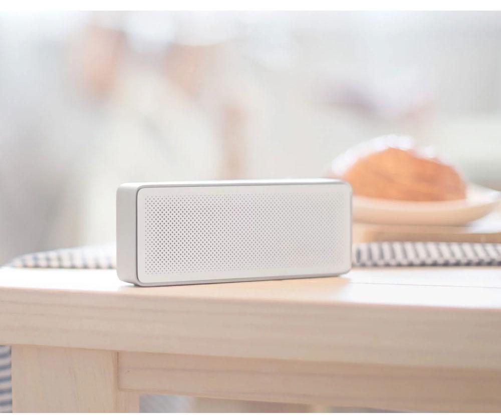 Original Xiaomi Mi Bluetooth Speaker 2 Square Box Stereo Portable Bluetooth 4.2 High Definition Sound Quality 10h Play Music AUX Port (9)